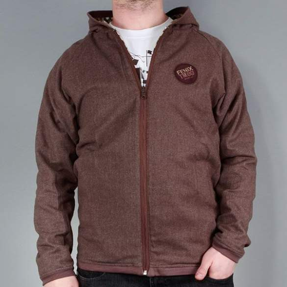 Bluza DIVER II brown - check << HIT >>