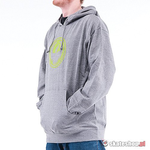 Bluza DRAGON Icon Hood (gunmetal heather) szara smpl