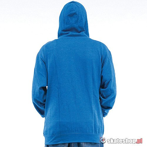Bluza DRAGON Icon Hood (royal heather) niebieska smpl