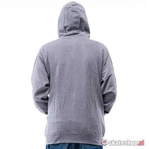 Bluza DRAGON Icon Zip (gunmetal heather) szara smpl