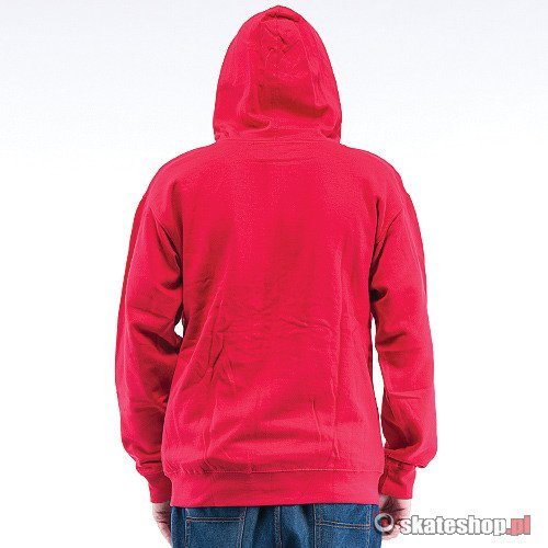 Bluza DRAGON Icon Zip (red) czerwona smpl