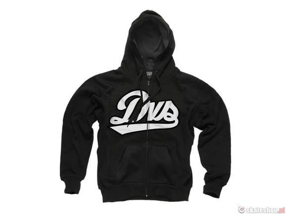 Bluza DVS League ZIP Hoodie (black) czarna