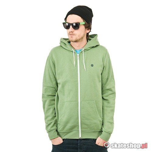Bluza ELEMENT Smith III (green t) zielona kaptur zip