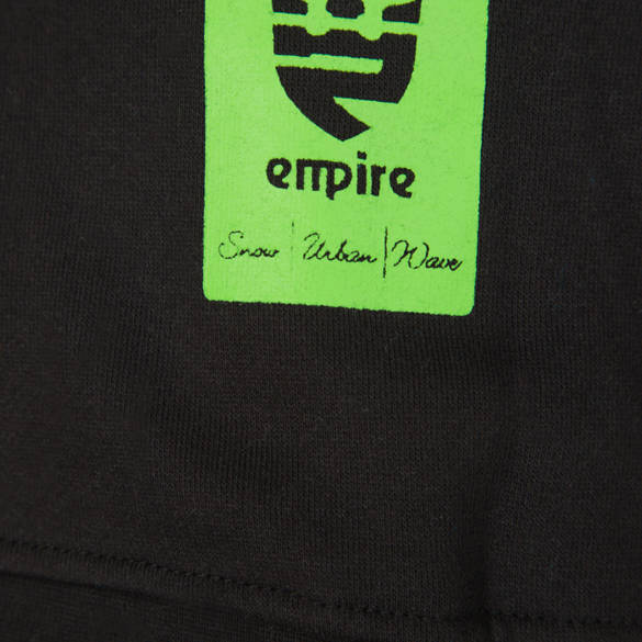 Bluza EMPIRE Kingdom (black/green) czarna