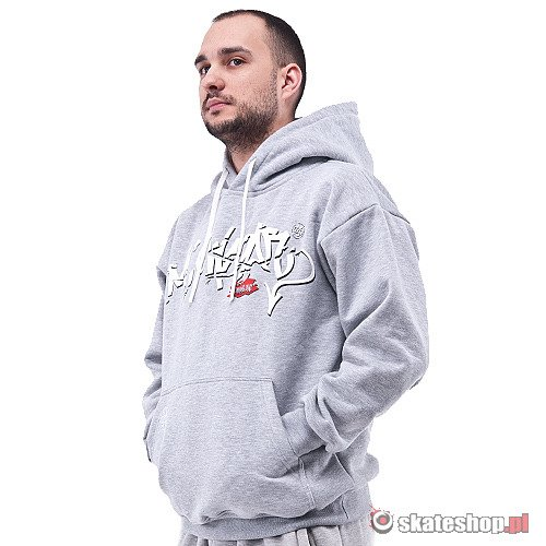 Bluza MC WEAR Bombing (grey) szara