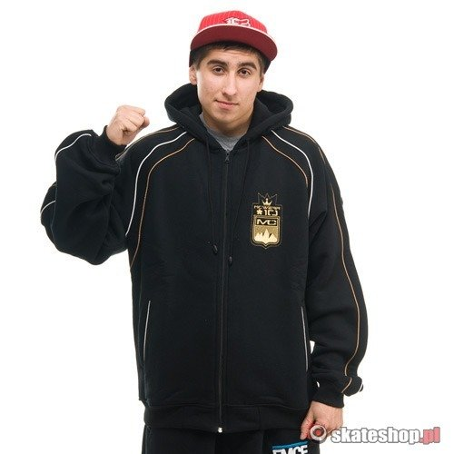 Bluza MC Wear Royal (black) czarna zip