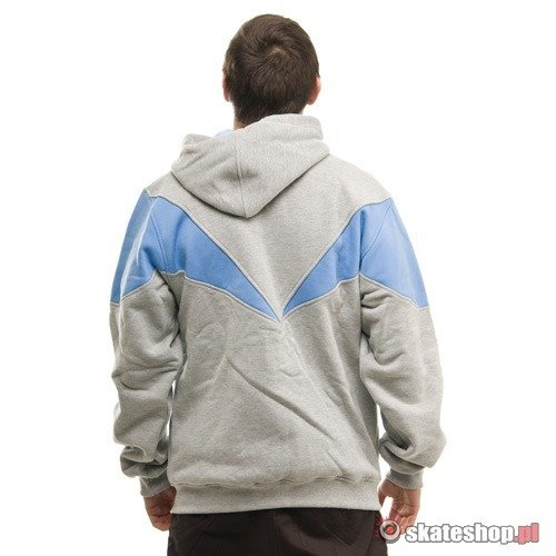 Bluza MC Wear Vertical (grey/blue) szaro-niebieska zip