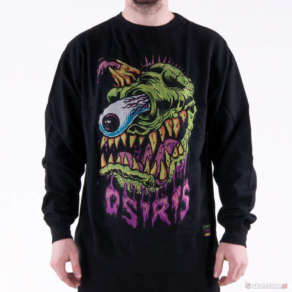 Bluza OSIRIS Miska Monster (black) czarna