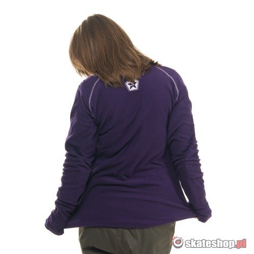 Bluza SESSIONS Thermatic 1/4 Zip WMN (deep purple) fioletowa