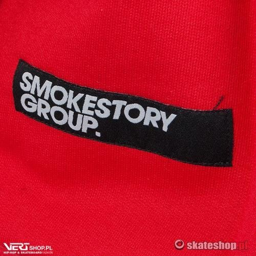 Bluza SMOKESTORY Circle (red)