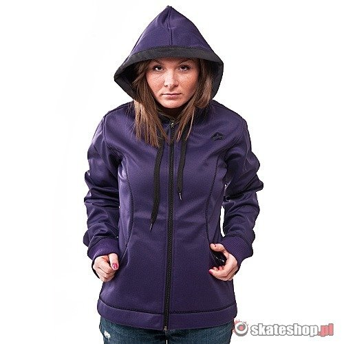 Bluza Softshell SESSIONS Prana WMN (deep purple) ciemnofioletowa