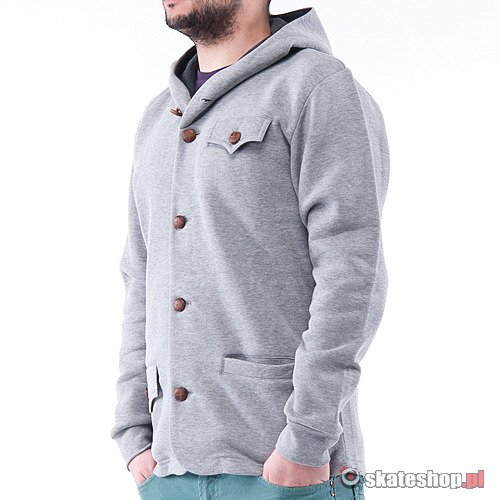 Bluza TURBOKOLOR Bjorn (grey) szara