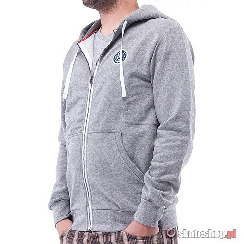 Bluza TURBOKOLOR Moder (grey) szara