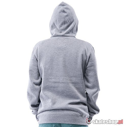 Bluza VANS Classic Pullover (concrete heather/true blue) szara