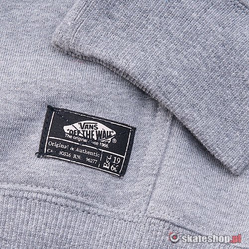 Bluza VANS Classic (concrete heather/deep lake) szara