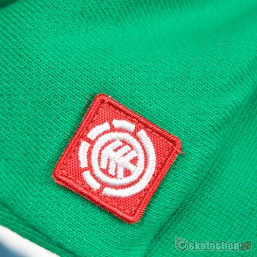 Bluza z kapturem ELEMENT Elemental (celtic) zielona zip