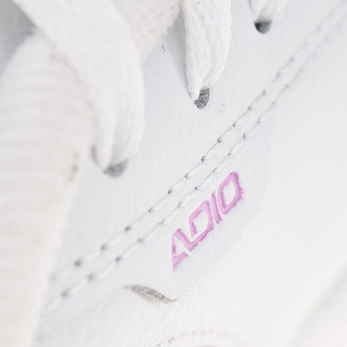 Buty ADIO Eugene RE STAMP WMN (white/black/pink) białe