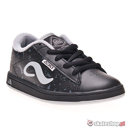 Buty ADIO Eugene Toddlers (black/charcoal/grey) czarno-szare