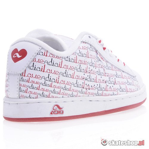 Buty ADIO Eugene (wht/red/blk) K58A22