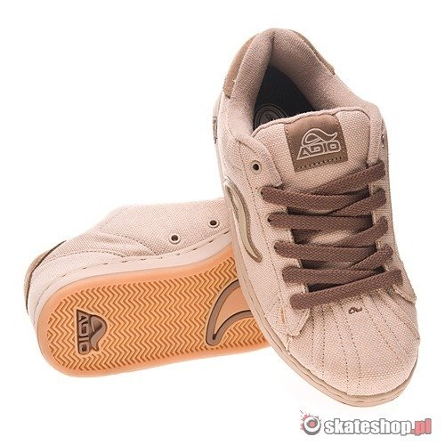 Buty ADIO Flint (hemp/brown) jasnobrązowe 457