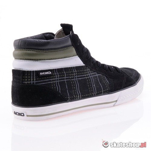 Buty ADIO Glendale (black/plaid/white) K6G102