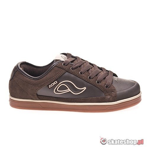 Buty ADIO Jasper Low (brown/gum) brązowe 461