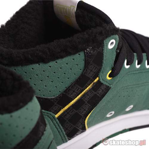 Buty ADIO Kingsley (dark green/white/yellow) ciemno-zielone