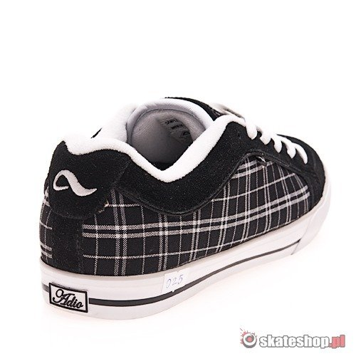 Buty ADIO Marx Re-M (black/white) czarne 025
