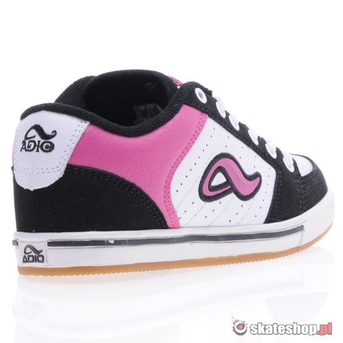 Buty ADIO Snap (wht/blk/pink) K58A5