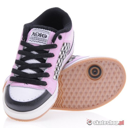 Buty ADIO Snap (wht/blk/pink) K61A8