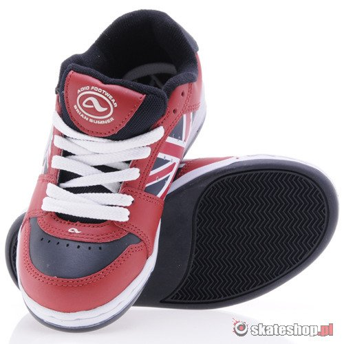 Buty ADIO Summer V3 (red/union jack) K55A16