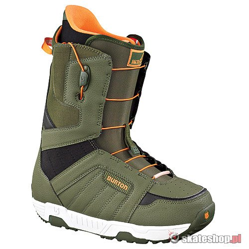 Buty BURTON Moto '12 (army green/orange) zielone