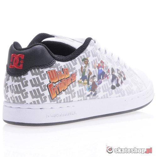 Buty DC Character (wht/blk)  K60A20