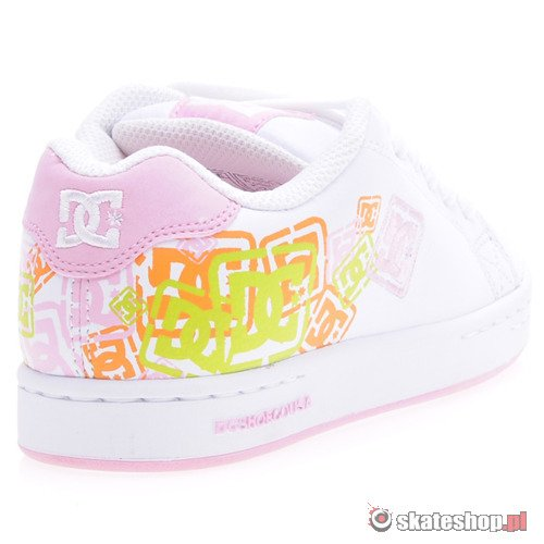 Buty DC Character (wht/pink) K53A24