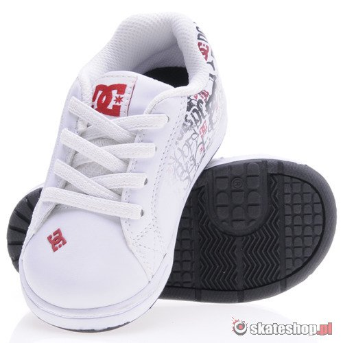 Buty DC Character (wht/red) K63A18