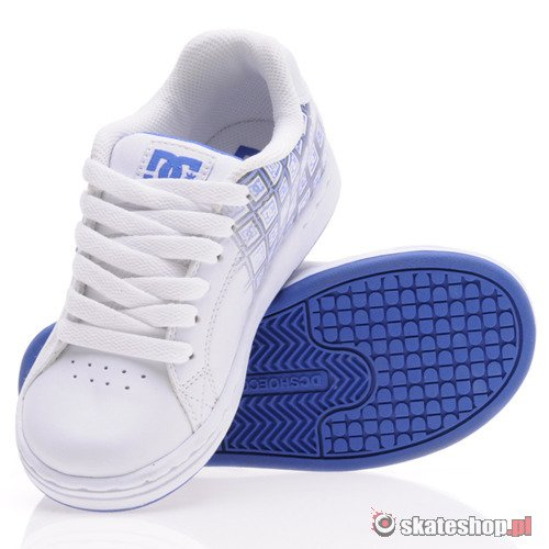 Buty DC Character (wht/royal) K57A11