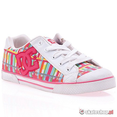 Buty DC Chelsea SE WMN (white/berry) multikolor