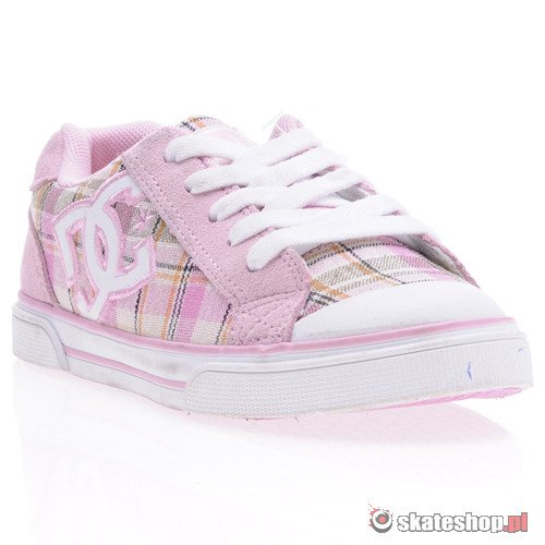 Buty DC Chelsea (pink/wht)  K59A43