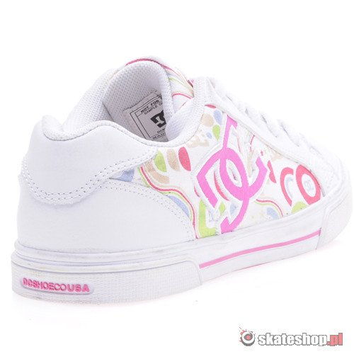 Buty DC Chelsea (wht/pink) K53A14