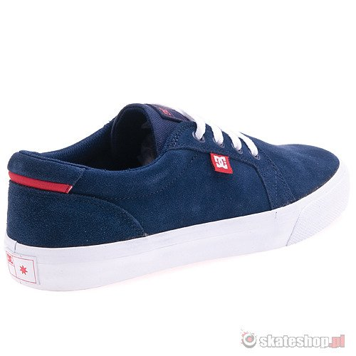 Buty DC Council S (navy/red) granatowe