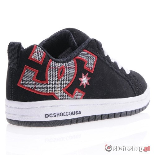Buty DC Court Graffik (blk/red/wht) K60A5