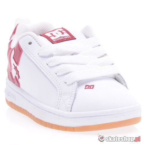 Buty DC Court Graffik (wht/red) K53A31
