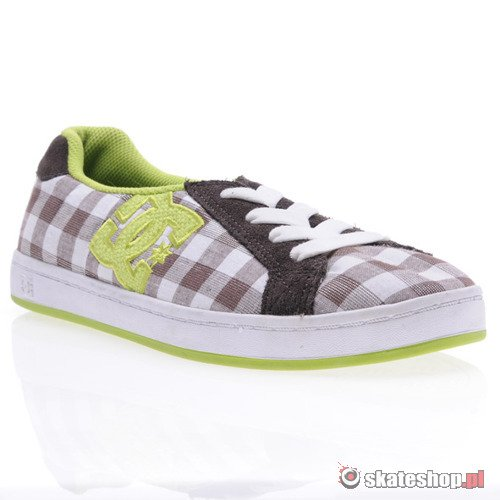 Buty DC Court Slim TX (d.chocolate/white) K38A1
