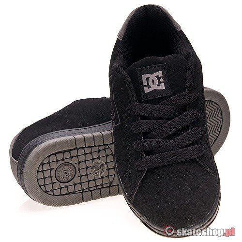 Buty DC Field SN Jr's (black/battleship) czarne
