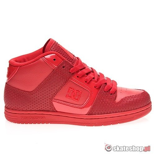 Buty DC MANTECA 2 MID SE WMN (athletic red) czerwone