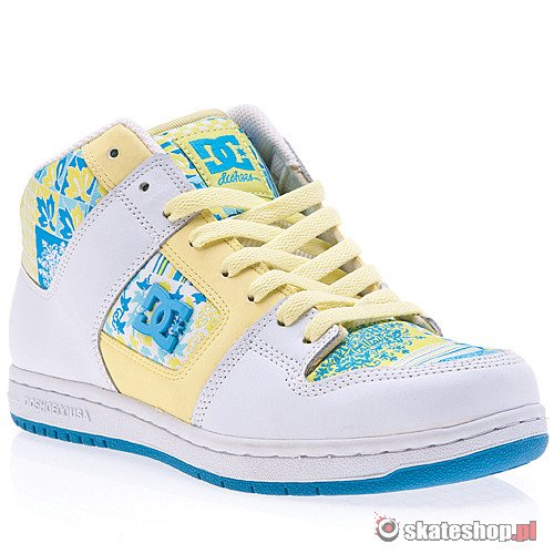Buty DC Manteca 2 Mid LE WMN (white/atlm)