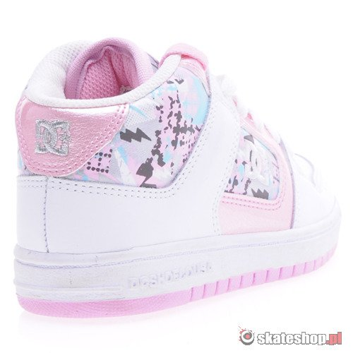Buty DC Manteca 3 Mid (wht/pink) K53A3
