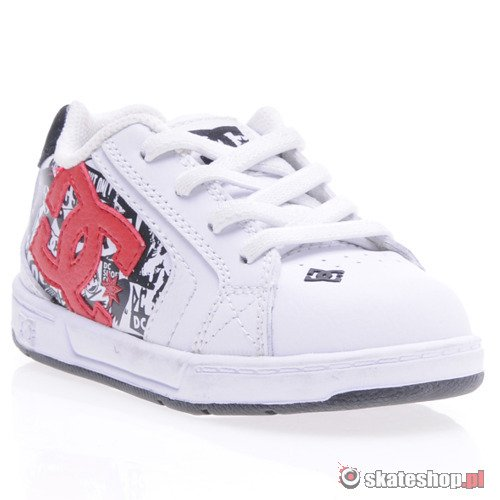 Buty DC Net (wht/red) K64A2