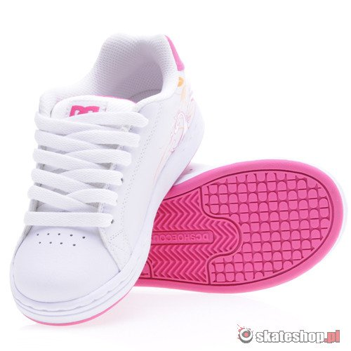 Buty DC Pixie Scroll (wht/crazy pink) K53A1