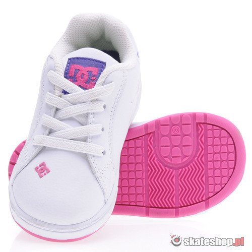 Buty DC Pixie Scroll (wht/crazy pink) K64A14